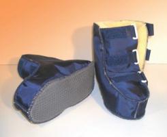 Reha-Schuhe Fell mit Nylonbezug