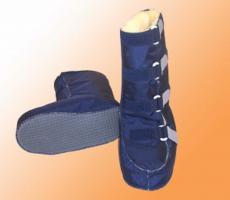 Reha-Stiefel Fell mit Nylonbezug