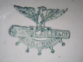 Foto 3 Reichsgeschirr mit Stempel
