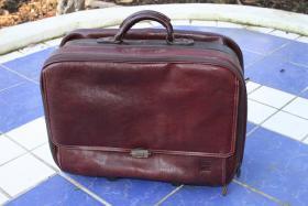 Reisetasche, Handgepäck, Ledertasche, Trolley, hochwertig