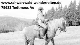 Reiten, Wanderreiten, Pferdetrekking, Urlaub im Sattel, schwarzwald-wanderreiten, Todtmoos Au