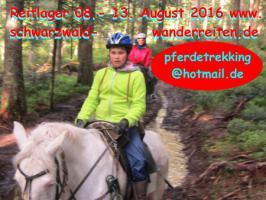 Foto 7 Reiten, Wanderreiten, Reitlager, Tagesritte, Reitferien, Pferdetrekking rund um den Feldberg