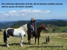 Foto 6 Reitferien, Wanderreiten, Entschleunigen im Schwarzwald Todtmoos Au