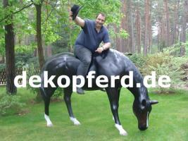 Reklame - Deko Kuh oder Deko Pferd -- oder oder ...