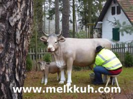 Foto 2 Reklame - Deko Kuh oder Deko Pferd -- oder oder ...