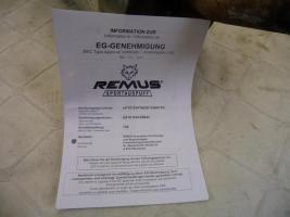 Foto 5 Remus Sport Endschalldämpfer Auspuff Endschalldämpfer Corsa B