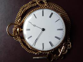 Repetier Taschenuhr Gold (9)