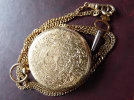 Repetier Taschenuhr Gold (8)
