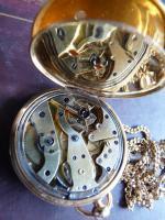Repetier Taschenuhr Gold (5)
