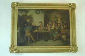 Reproduktion von 1884/ Gemälde von Hugo Oehmichen