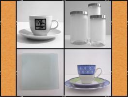 Restposten: Vasen, Gläser, Geschirr, Bastelmaterial, Deko , Kerzen