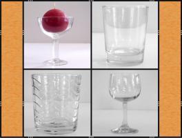 Foto 6 Restposten: Vasen, Gläser, Geschirr, Bastelmaterial, Deko , Kerzen