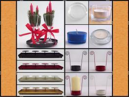 Foto 7 Restposten: Vasen, Gläser, Geschirr, Bastelmaterial, Deko , Kerzen