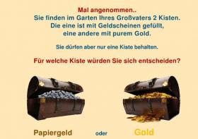 Retten Sie Ihr Geld - kaufen Sie Gold, ohne Kursrisiko!