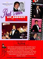 Ric Andorff - ''Tribute to Dean Martin''. Die Live Gesangsshow.