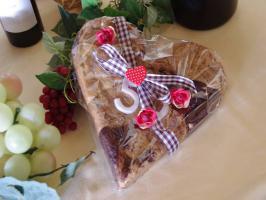 Riesen Herz Cookie Ideal als Geschenk für jeden Anlass!