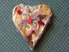 Foto 3 Riesen Herz Cookie Ideal als Geschenk für jeden Anlass!