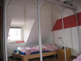 Foto 2 Riesen Kleiderschrank mit Spiegel- Schiebe- Türen