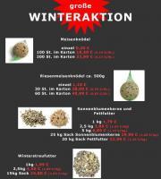 Riesenmeisenknödel und Winterstreufutter super Preiswert !