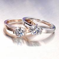 Ring Swarovski 18K Gelbgold Ring mit Kristallen