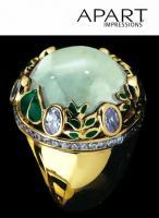 Ring vergoldet von APART Ring-Größe 21 - OVP - NEU