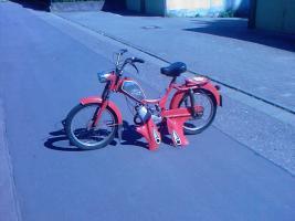 rixe oldtimer fahrrad mit ktm hilfsmotor in worms von. Black Bedroom Furniture Sets. Home Design Ideas
