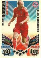 Robben.....Match Attax 11/12 2011 2012......Club Einhundert Karte