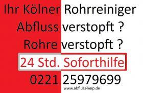 Rohr und Kanalreinigung Köln Tel.0221-25979699