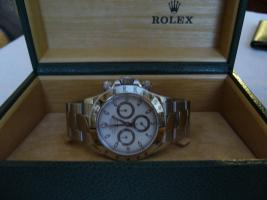 Rolex Daytona Stahl weisses Ziffernblatt
