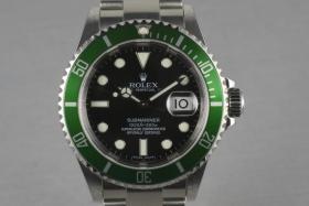 Rolex Grüne Submariner Ref.: 16610 LV mit Box und Papieren Z serielle