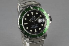 Foto 3 Rolex Grüne Submariner Ref.: 16610 LV mit Box und Papieren Z serielle
