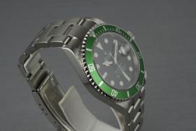 Foto 4 Rolex Grüne Submariner Ref.: 16610 LV mit Box und Papieren Z serielle