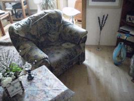 Foto 3 Rolf Benz Supergarnitur mit Ottomane rechts  und gr. Sessel