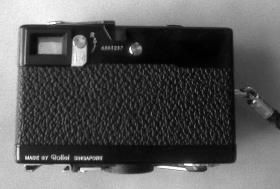 Foto 3 Rollei Kleinbild Kamera 35S mit Blitz + Original Tasche, schwarz