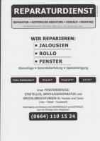 Rollo Reparatur - Reparaturdienst Mecinaj Fenster- u. Jalousienservice