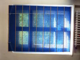 Rollos 3x 115 x 150 blau / 15 Euro zusammen
