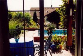Foto 2 Romantikzimmer mit Terrasse und Swimmingpool