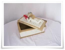 Foto 2 Romantische Aufbewahrungsbox mit Engel