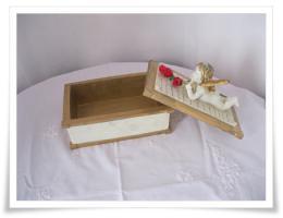 Foto 3 Romantische Aufbewahrungsbox mit Engel