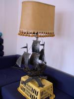 - Romantische Lampe - Piratenschiff ''Black Pearl''