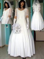 Romantisches Brautkleid in creme - Größe 40 –42 Neu & Sofort