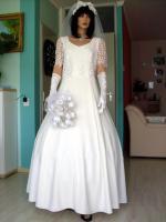 Foto 4 Romantisches Brautkleid in creme - Größe 40 –42 Neu & Sofort