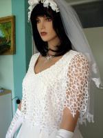 Foto 5 Romantisches Brautkleid in creme - Größe 40 –42 Neu & Sofort