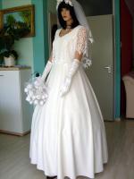 Foto 6 Romantisches Brautkleid in creme - Größe 40 –42 Neu & Sofort