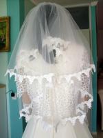 Foto 7 Romantisches Brautkleid in creme - Größe 40 –42 Neu & Sofort
