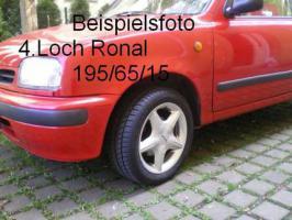 Rondell Alufelgen 195/65/15/