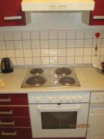 Foto 5 Rot/beige Einbauküche mit E-Geräten günstig zu verkaufen