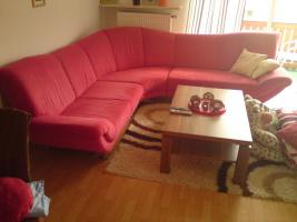 Rote Runde Couch