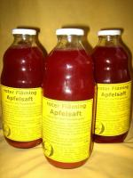 Foto 2 Roter Fläming Apfelsaft; naturtrüber Apfel-Holundersaft