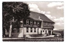 Frohnschwand Gasthaus Engel
